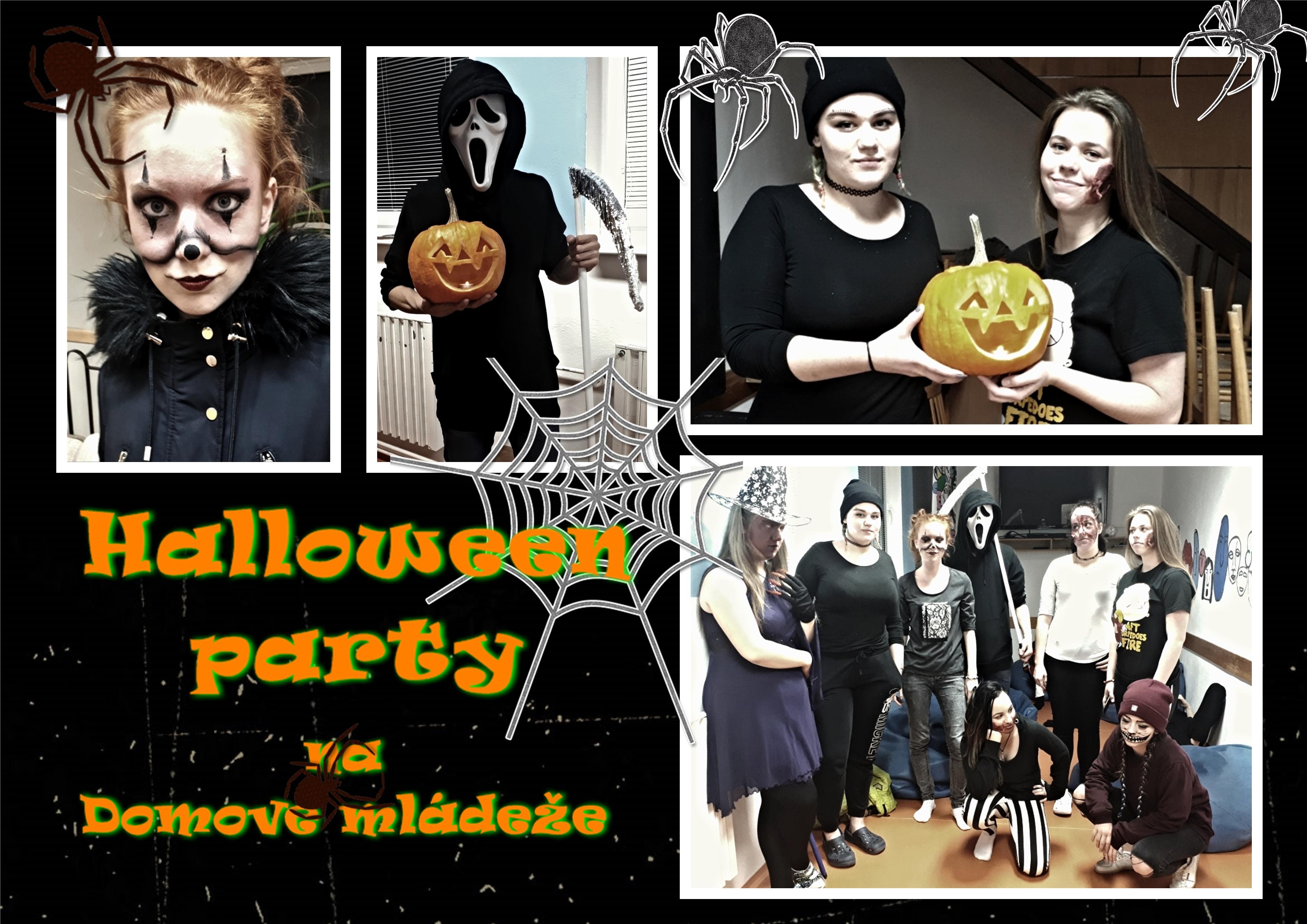 Halloween party na Domově mládeže