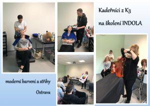 Moderní barvení a střihy – školení Indola