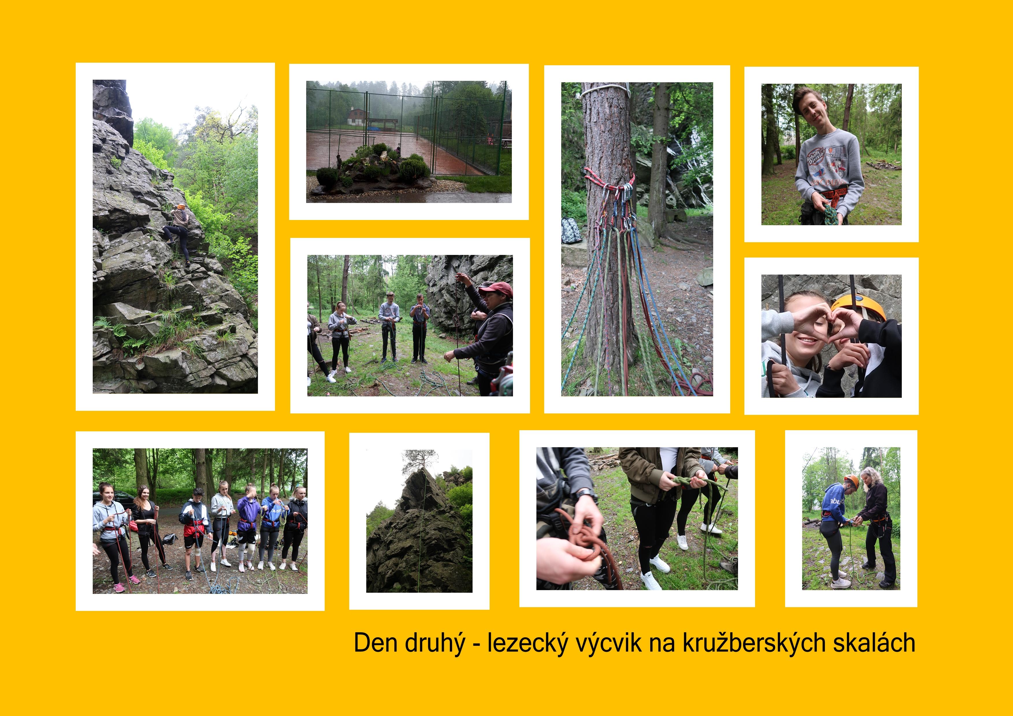 SK – 2. den – lezecký kurz Kružberk