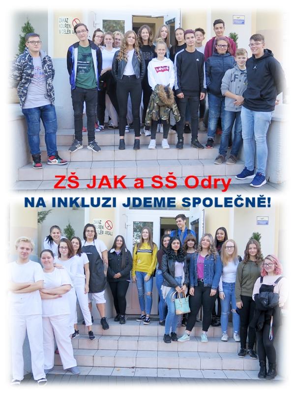 Návštěva žáků ZŠ Komenského na odborných pracovištích SŠ Odry