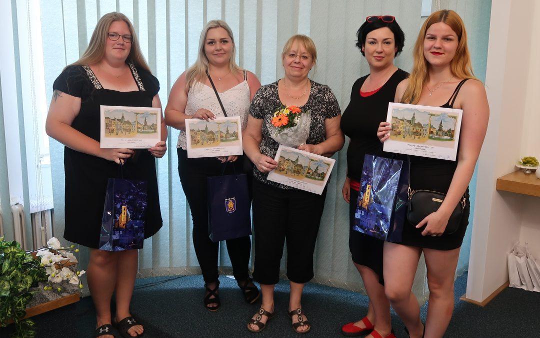 Ocenění Města Odry pro úspěšné absolventy